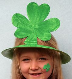 Click pic for 50 St Patricks Day Crafts for Kids - DIY Holiday Hats | Easy Crafts for Kids