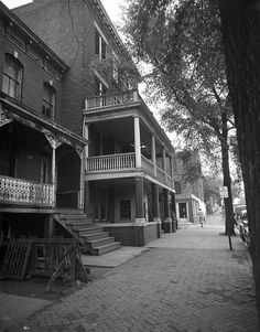 Porch, VD hospital by The Library of Virginia, via Flickr