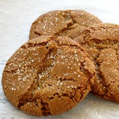 """Molasses Sugar Cookies 