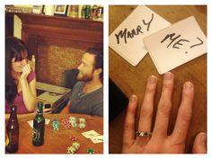 Poker marriage proposal