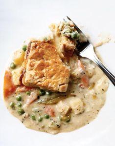 dinner, chicken pot pies, food, bon appetit, bon appétit