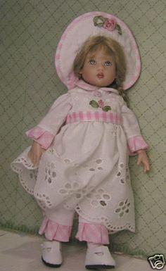"Go Anywhere Pattern 2 Sew 4 Riley Kish & Other 71/2"" Dolls  RK-2009 By Eli"