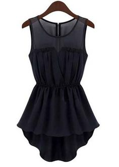 Little Black Tunic Top - dressy and cute! #LBD #fashion