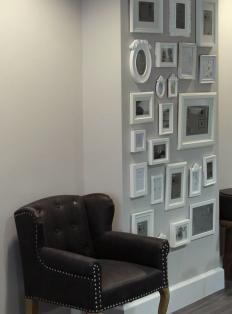 fotowand on pinterest photo walls basteln and gallery walls. Black Bedroom Furniture Sets. Home Design Ideas