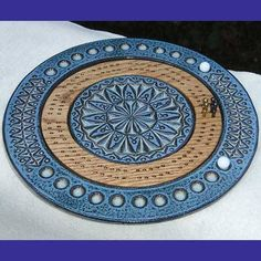 cool cribbage board