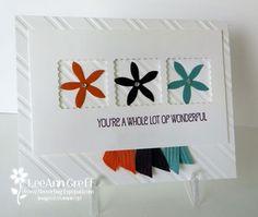 In Color Flower fair card swap card idea, flower patch, flower fair, fair card, flowerbug inkspot
