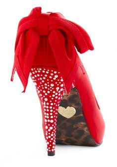 Betsey Johnson Strawberry Glam Heels