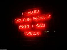 shotgun infinity