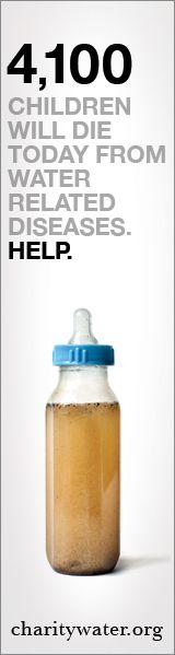everyone need clean water.