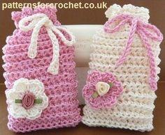 Free crochet pattern ribbed soap saver usa