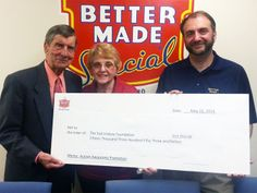 Better Made Raises over $15,000 for the Ted Lindsay Foundation for Autism Awareness