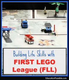Building Life Skills with FIRST LEGO League - education possible website
