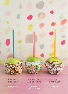 Creative candy apple