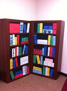 VBS Agency D3 Bookcase