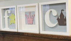 DIY with @HomeworksEtc Letters - perfect for the nursery!