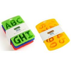 Alphabet and Numbers Silicone Mold Set