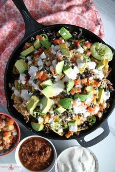 Skillet Cooked Monster Nachos