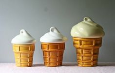 vintage ice cream canister or cookie jar large #home #decor #kitchen