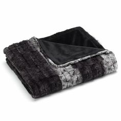 Jennifer Lopez Solid Faux-Fur Throw