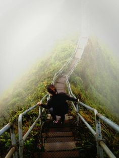 Hike the forbidden Stairway to Heaven