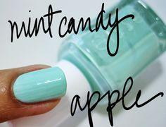 fall fashions, mint green, nail polish, mint candi, candies, candy apples, candi appl, green fashion, fall fashion trends