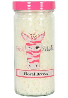 Floral Breeze $8  Visit www.pinkzebrahome.com/sprinklesomefun to order!