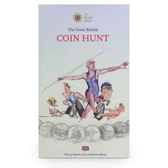 The NEW UK 50p Sports Edition #Coin #Collector Album