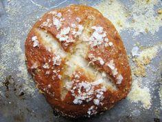 pretzel rolls