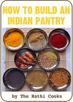 Not just the Indian pantry here some really great ideas (e.g., growing lemongrass, intro to herbal medicine, guide to flower teas just to name a few!)