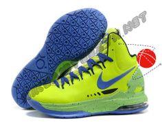 Nike Zoom KD V Volt Blue Black Halloween Discounts