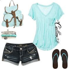 Charming Mint Summer Outfits