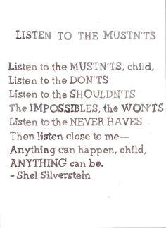 shel silverstein <3