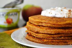 Apple Cinnamon Pumpkin Pancakes