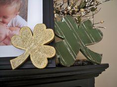 Wood Shamrocks, St. Patrick's Day Crafts
