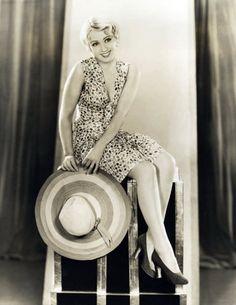 Joan Blondell 1931 - Photo by Elmer Fryer