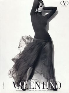 Valentino Advert - Herb Ritts, American Elle, September 1995