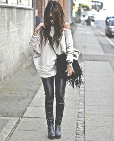 Teen Fashion Leather