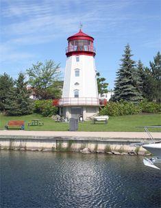 Prescott Lighthouse, Ontario Canada | St. Lawrence Seaway