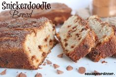 Eat Cake For Dinner: Snickerdoodle Bread