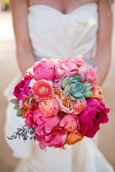 summer wedding bouquet ideas
