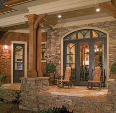 side porch, the doors, craftsman houses, dream, decorating ideas, patio, back porches, front porches, country homes