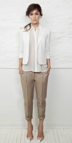 fashion work, woman fashion, spring office outfits, white blazer, fashion styles