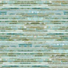 Tatami Mist Jewel Glass Mosaic tile