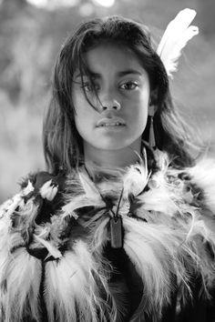 Maori Girl, Aotearoa, New Zealand