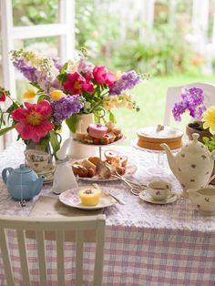 lovely spring tea