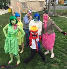 Inside Out Halloween Costume