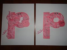 Cute craft for If You Give a Pig a Party