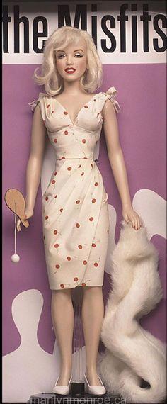 Kim Goodwin Marilyn Monroe dolls. .