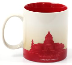 Starbucks Coffee 2011 Washington DC Mug, 16 fl oz: Kitchen & Dining  -  #junkydotcom #coffee #tea #mug