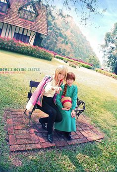 Howls Moving Castle. Cosplay